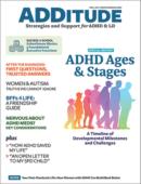 ADDitude September 01, 2021 Issue Cover