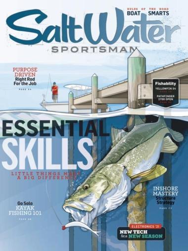 Salt Water Sportsman | 2/1/2021 Cover