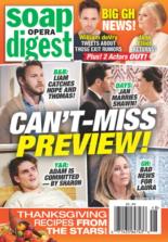 Soap Opera Digest | 11/30/2020 Cover