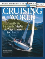 Cruising World April 01, 2021 Issue Cover