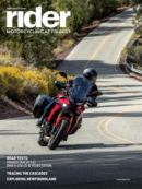 Rider November 01, 2021 Issue Cover