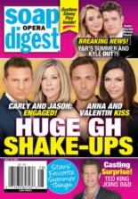 Soap Opera Digest July 12, 2021 Issue Cover