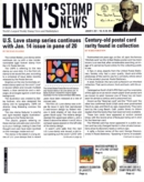 Linn's Stamp News Weekly | 1/2021 Cover