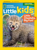 National Geographic Little Kids July 01, 2021 Issue Cover