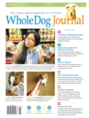 Whole Dog Journal October 01, 2021 Issue Cover