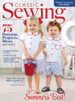 Classic Sewing | 6/1/2019 Cover