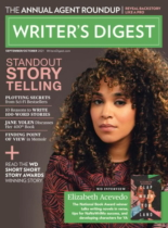 Writer's Digest September 01, 2021 Issue Cover