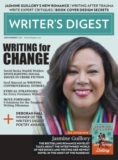 Writer's Digest July 01, 2021 Issue Cover