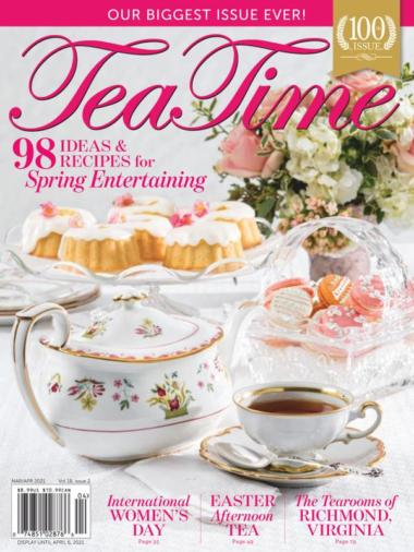 Tea Time | 3/1/2021 Cover