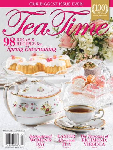 Tea Time | 3/2021 Cover