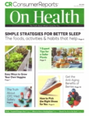 Consumer Reports On Health July 01, 2021 Issue Cover