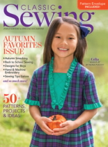 Classic Sewing September 01, 2020 Issue Cover