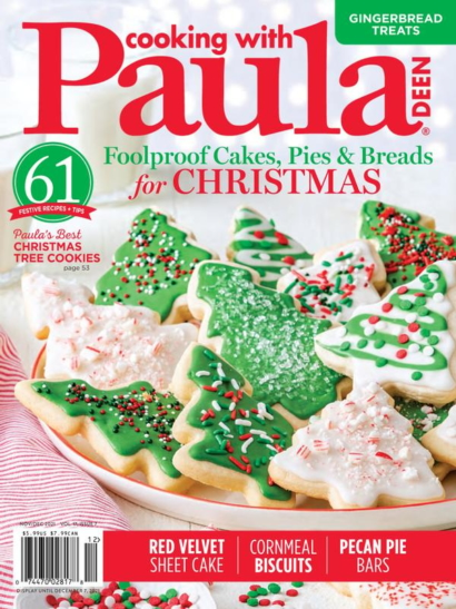 Cooking With Paula Deen November 01, 2021 Issue Cover