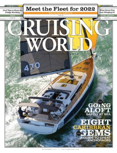 Cruising World October 01, 2021 Issue Cover