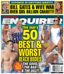 National Enquirer August 02, 2021 Issue Cover