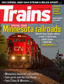 Trains August 01, 2021 Issue Cover
