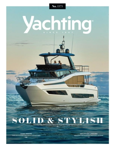 Yachting September 01, 2021 Issue Cover