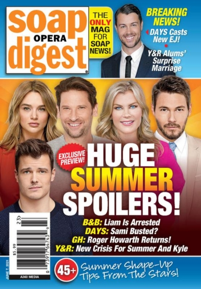 Soap Opera Digest June 07, 2021 Issue Cover