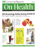 Consumer Reports On Health | 3/1/2021 Cover