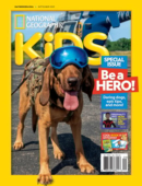 National Geographic Kids September 01, 2021 Issue Cover