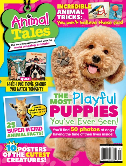 Animal Tales November 01, 2021 Issue Cover