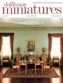 Dollhouse Miniatures July 01, 2021 Issue Cover