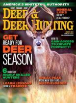 Deer & Deer Hunting August 01, 2021 Issue Cover
