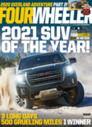 Four Wheeler May 01, 2021 Issue Cover