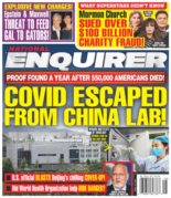National Enquirer | 4/19/2021 Cover