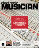 Electronic Musician September 01, 2021 Issue Cover