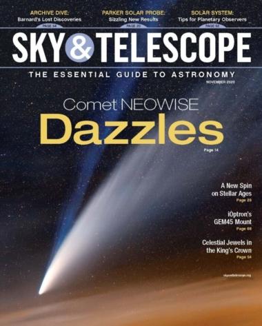 Sky & Telescope | 11/1/2020 Cover