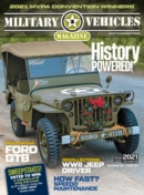 Military Vehicles November 01, 2021 Issue Cover