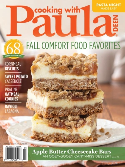 Cooking With Paula Deen September 01, 2021 Issue Cover