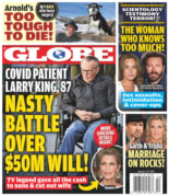 Globe | 1/25/2021 Cover