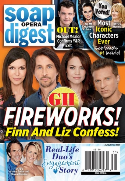 Soap Opera Digest August 02, 2021 Issue Cover