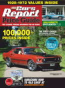 Old Cars Report Price Guide | 9/1/2020 Cover