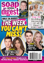 Soap Opera Digest July 26, 2021 Issue Cover