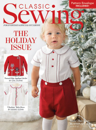 Classic Sewing December 01, 2020 Issue Cover