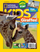 National Geographic Kids August 01, 2021 Issue Cover