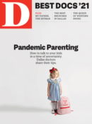 D Magazine October 01, 2021 Issue Cover