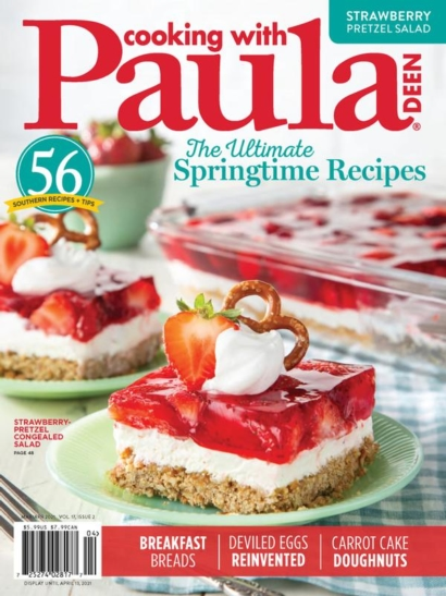 Cooking With Paula Deen | 3/2021 Cover