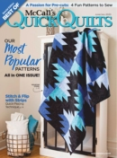 Fons & Porters Quick and Easy Quilts | 6/1/2020 Cover