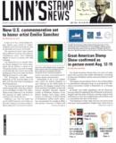 Linn's Stamp News Weekly June 07, 2021 Issue Cover